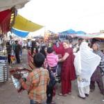 auf dem Markt mit meinen Frauen