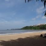 ein Strandabschnitt bei Dona Paula