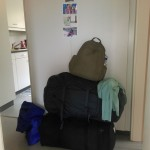 Alles gepackt und abreisefertig