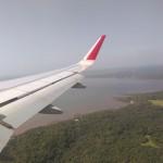 Anflug auf Goa